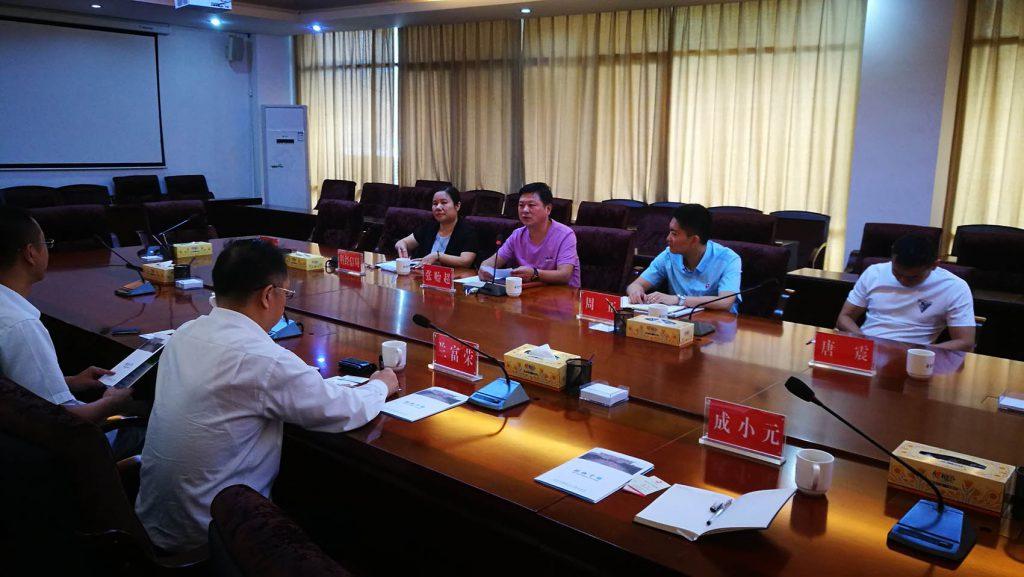 天河智造(北京)科技股份有限公司联合创始人,湖南力合智能制造技术升级有限公司董事长兰富荣先生一行访问韶山